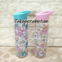 Botol Air Minum Transparan Karakter / Botol Air Minum Anak