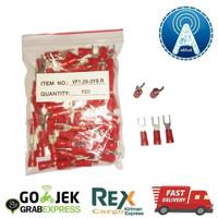 Skun Y / Garpu 1.25-3 Merah VF1.25-3YS R 100Pcs