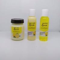 PROMO Paket 3 in 1 isi shampo conditioner 100ml hairmask 200ml TERMUR