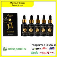 Montclair Grasse Beard Paket Platin ( Menumbuhkan Brewok Dan Jenggot )