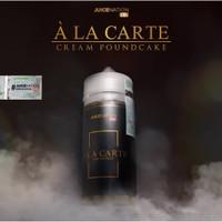 Liquid A La Carte Cream Poundcake 3Mg 6Mg 60ML Liquid Ala Carte Alacar