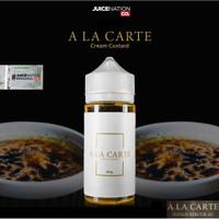 Liquid A La Carte Cream Custard 3Mg6Mg 100ML Liquid Ala Carte Alacarte