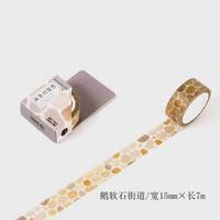 Japanese Washi Tape - Modern People City Daily Life Pattern (1,5cmx7m)