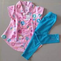 baju anak perempuan setelan / baju bayi perempuan /baju tunik anak