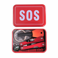 Portable SOS Tool Kit Earthquake Emergency Onboard Outdoor Survival