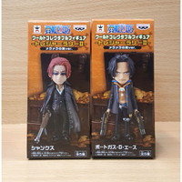 One Piece WCF-Treasure Rally II- Shanks & Ace Strong World 2/SET