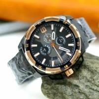 Jam Tangan Diesel Fashion Pria chronograph tali rantai Besi