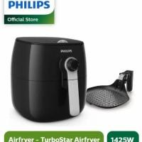 PHILIPS AIR FRYER HITAM HD9623 PENGGORENGAN SEHAT TANPA MINYAK HD 9623