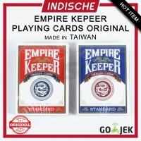 Poker Remi Kartu Cards Magic Sulap KEEPER Flourish Playing EMPIRE