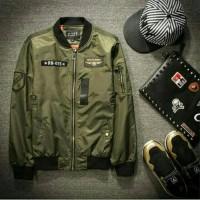 Promo Jacket Bomber Military Taslan Premium / Jaket Bomber taslan anti