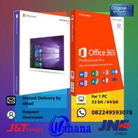 Lisensi Paket Windows 10 PRO dan Office 365