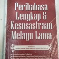 Jual Ori Peribahasa Lengkap Dan Kesusastraan Melayu Lama Buku