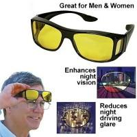 Kacamata Driving Polarized Anti Glare dengan Night Vision untuk Pria