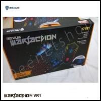 Keyboard Gaming Rexus dan Mouse Gaming - Rexus Warfaction VR1 Combo Pr