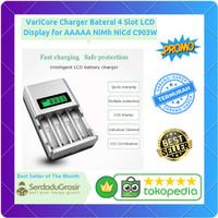 Charger Cas Baterai Batu Battery AA AAA LCD Indikator 4 Slot NiMh NiCd