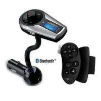 Bluetooth FM Transmitter Car Kit MP3 Player with Steering Wheel Handsf