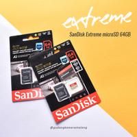 NEW - Sandisk Extreme MicroSD 64gb UHS-I - Gudang Kamera Malang
