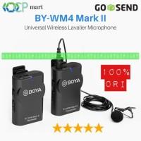Mic BOYA BY-WM4 Mark II Wireless Microphone Vlog HP Slr wm6 wm8