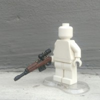 LEGO 3rd party accs, BrickWarriors German Sniper Rifle custom