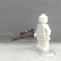 LEGO 3rd party accs, BrickWarriors US Sniper Rifle custom