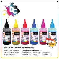 Tinta Art Paper Epson F1 Ink 100ML 6 Warna
