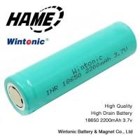 HAME WINTONIC Baterai 18650 INR 3.7V 2200mAh Flat Top