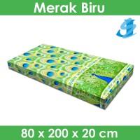 Rivest Sarung Kasur 80 x 200 x 20 - Merak Biru