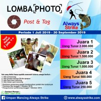 Umpan Mancing Always Strike Lomba Foto