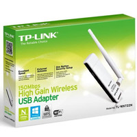 TPLINK High Gain Wireless USB Adapter 150Mbps TLWN722N