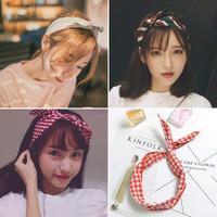 Premium bandana simpul twist elastis ala korea