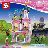 SY 986 Princess Aurora Castle Disney SY986 lego Princes