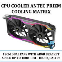 Antec Prizm Cooling Matrix - 12CM Dual Fans (2 in 1) with ARGB Bracket