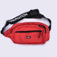 WB.22 / Waist Bag Red - Premium Nation Original