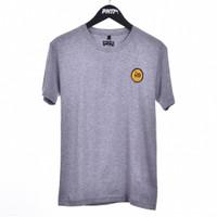 GRY WOV PATCH / Men Short Tshirt Grey - Premium Nation Original