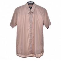 SS.57 / Men Shirt Short CHOCOLATE - Premium Nation Original