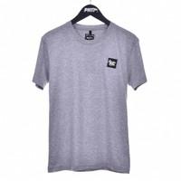 GRY RUB PATCH / Short Sleeves Tshirt GREY - Premium Nation Original