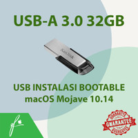 USB Instalasi Bootable macOS Mojave 10.14 untuk hackintosh macbook mac