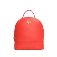 Les Catino Pebbles Backpack Acc Red Cayanne
