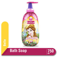 Eskulin Kids Bath Soap Princess Belle Botol 750ML