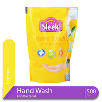 Sleek Hand Wash Lemon Pouch 400 mL