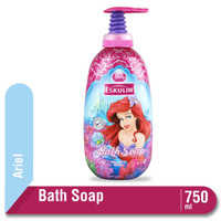 Eskulin Kids Bath Soap Princess Ariel Botol 750ML
