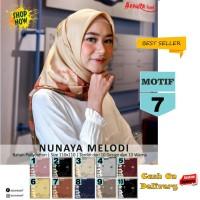 Jilbab Segiempat Nunaya Melody Motif 7 By Azzura Scarf Kerudung Murah