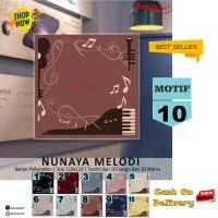 Jilbab Segiempat Nunaya Melody Motif 10 By Azzura Scarf Kerudung Murah