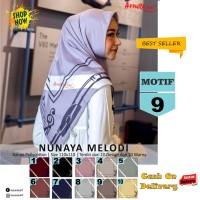 Jilbab Segiempat Nunaya Melody Motif 9 By Azzura Scarf Kerudung Murah