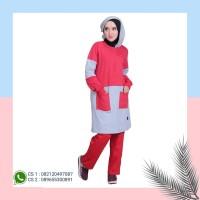 Setelan Olahraga Muslimah Jumbo BMS -11