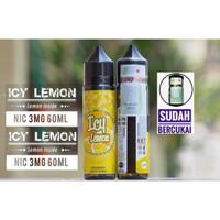 ICY LEMON 60ML Premium Liquid Triniti Cukai refreshing not soda desert