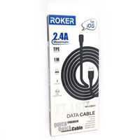 Kabel Roker Flash iPhone Kabel Data Charger 2.4A For iPhone 5 / 6 / 7