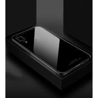 Case Samsung Galaxy M10 LUXURY Tempered Glass Case