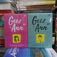 Novel Paket 2 Buku - GEEZ ANN - Part 1 dan 2 - Rintik Sendu