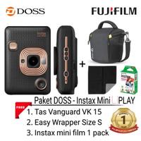 Fujifilm Instax Mini LiPLAY Paket DOSS / Fuji Liplay / Instax Liplay